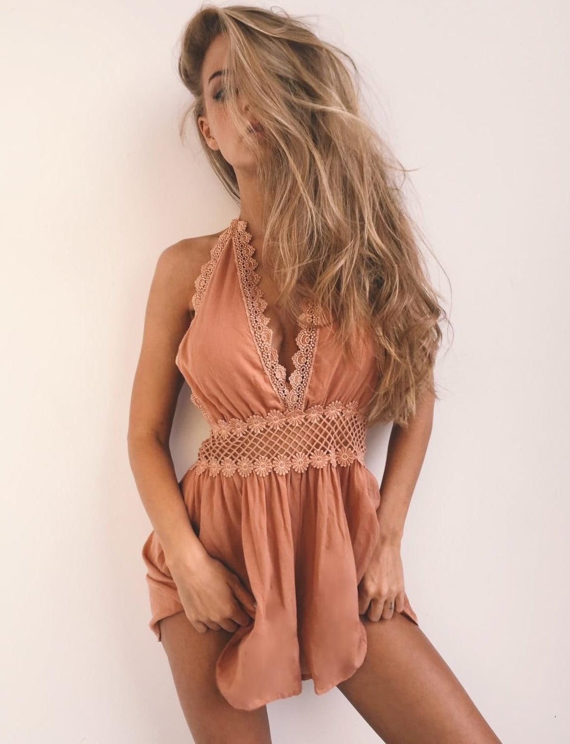 The Beverly Romper