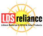 LDSreliance Lithium Battery & Off Grid Solar Products Store.  This is the original online store of the MillerTech lithium battery since 2017.