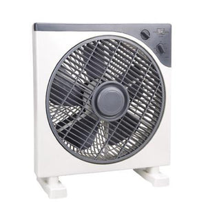 "12V DC Powered 12""x12"" Box Fan"