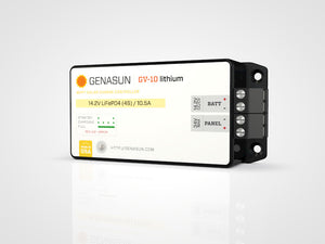Genasun GV-10-Li 10.5A Solar Charge Controller with MPPT for Lithium Batteries