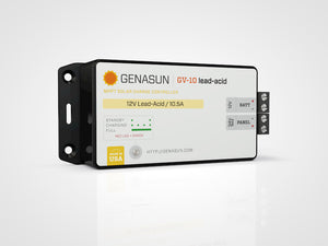 Genasun GV-10-Pb-12V 10.5A Solar Charge Controller with MPPT for Lead Acid Batteries