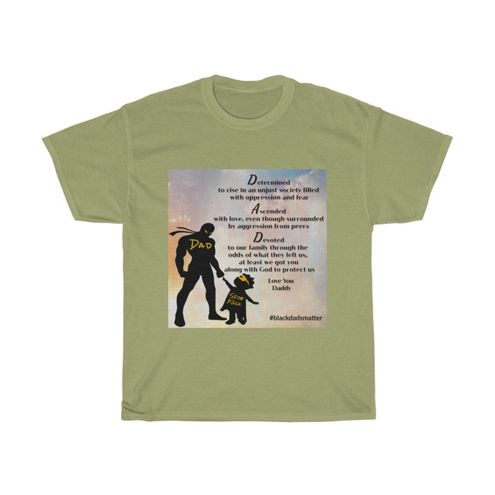 "Superheros in the Sky ""Black Dads Matter"" T-Shirt"