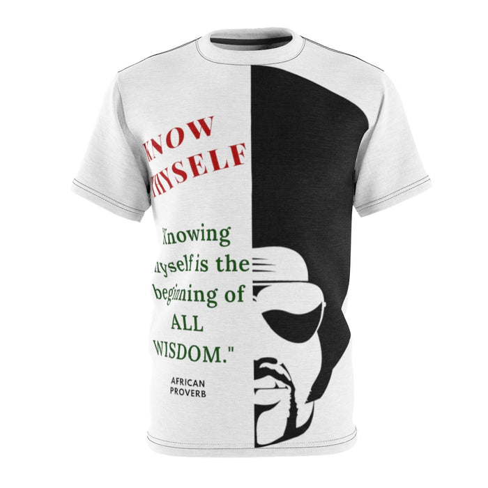 """Know Thyself"" All-Over T-Shirt"