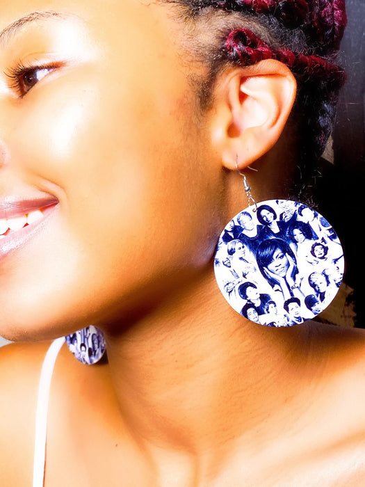 Her Legacy Wooden Earrings