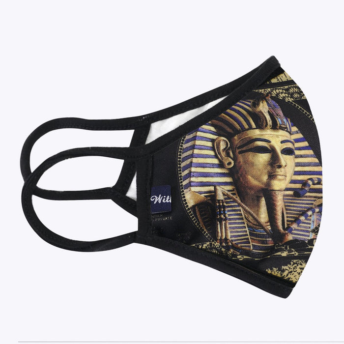 Egyptian 3-Layered Face Mask-PM0220