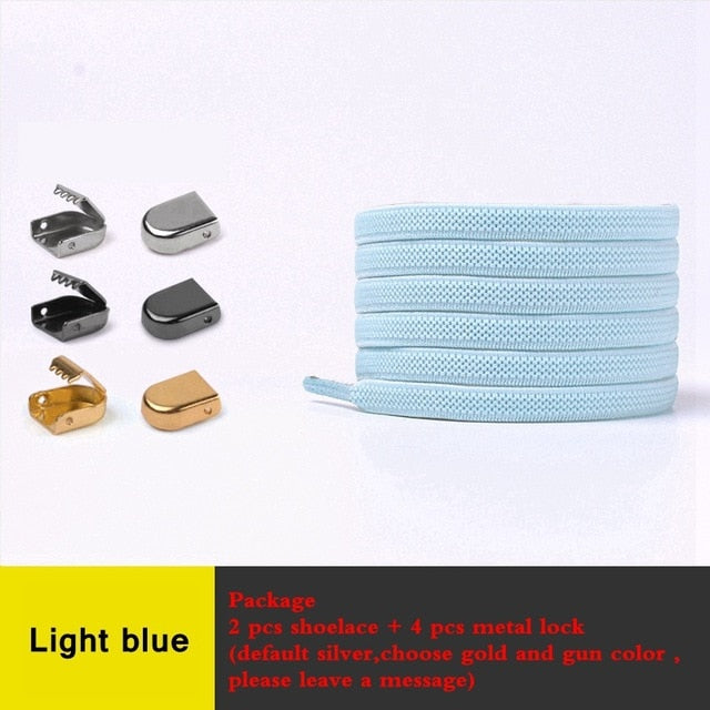 No-Tie Elastic Shoelaces