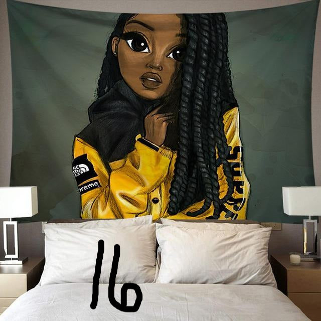 Melanated Wall Tapestry