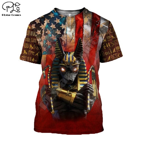 Anubis All-Over Printed 3D T-Shirt