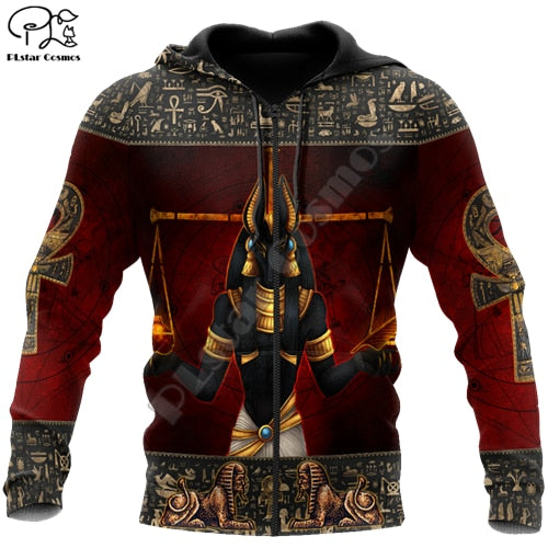 NEW Ancient Egyptian Pharaoh Lightweight Hoodie