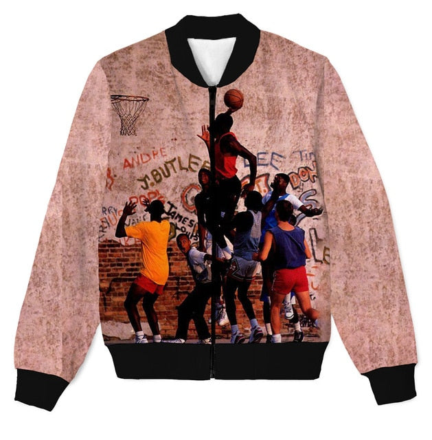 Michael Jordan Street Ball 3D Lightweight Jacket
