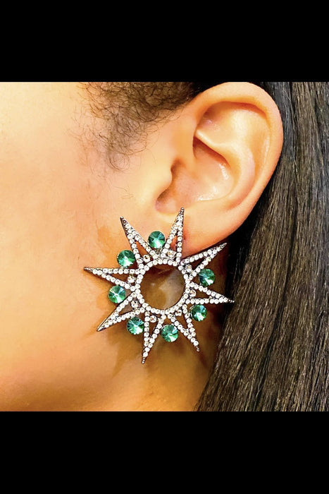 Wilhelmina's Star Earrings