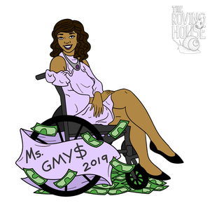 "Ms. GMY$ 2019 ""Akirea"" Sticker"