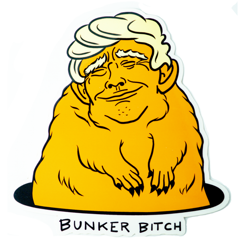 Bunker Bitch Vinyl Sticker