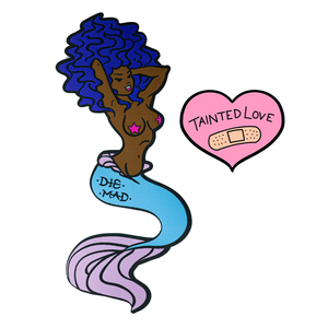 """Tainted Love"" XL Back Patch - Nerissa"
