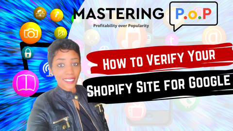 How to get Shopify Website Verified for Google Search