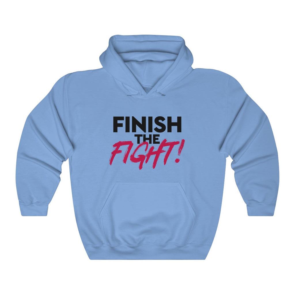 Finish the Fight Unisex Heavy Blend™ Hooded Sweatshirt