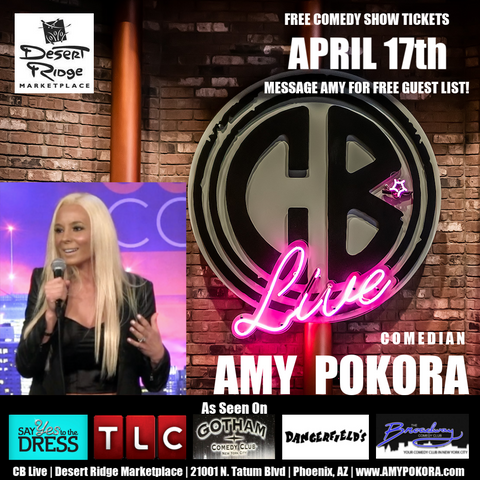 Wednesday, April 17th @ 7:30PM - CB Live, PHX