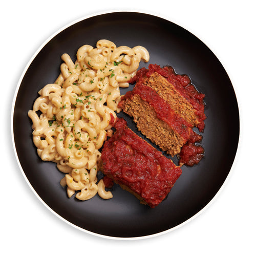 Turkey Meatloaf & Mac n Cheese