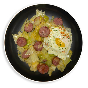 Breakfast Sausage Sunny Side Up