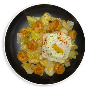 Breakfast Shrimp Sunny Side Up