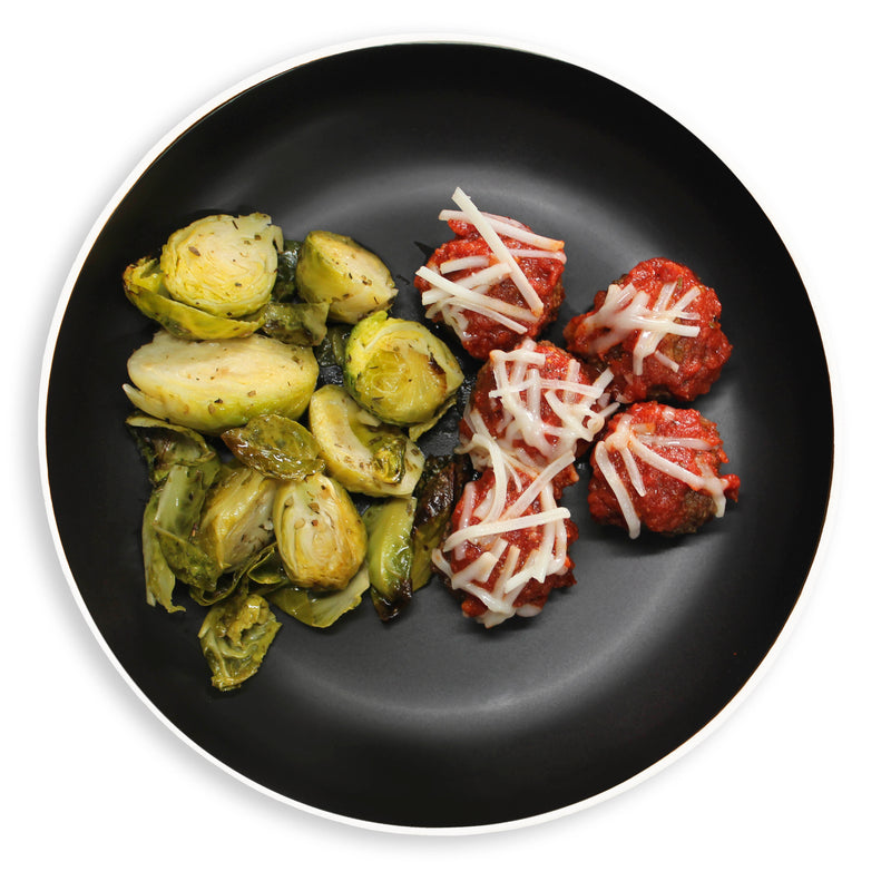 "Vegan ""Meatballs"" & Brussels"