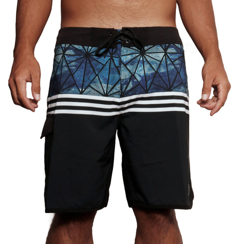 male modeling board shorts front