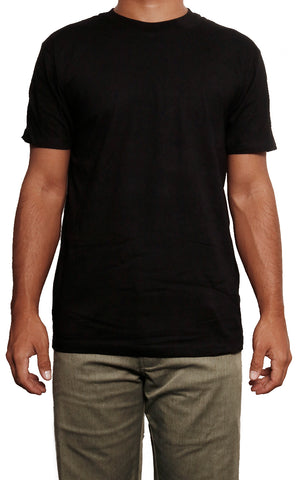 male modeling slim fit t shirt front