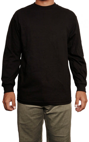 male modeling long sleeve t shirt front