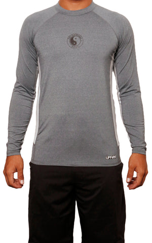 male modeling tc surf long sleeve lycra t shirt front