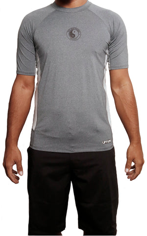 male modeling tc surf short sleeve lycra t shirt front