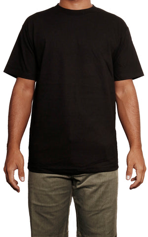 male modeling regular t shirt front
