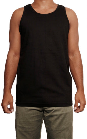 male modeling tank top front