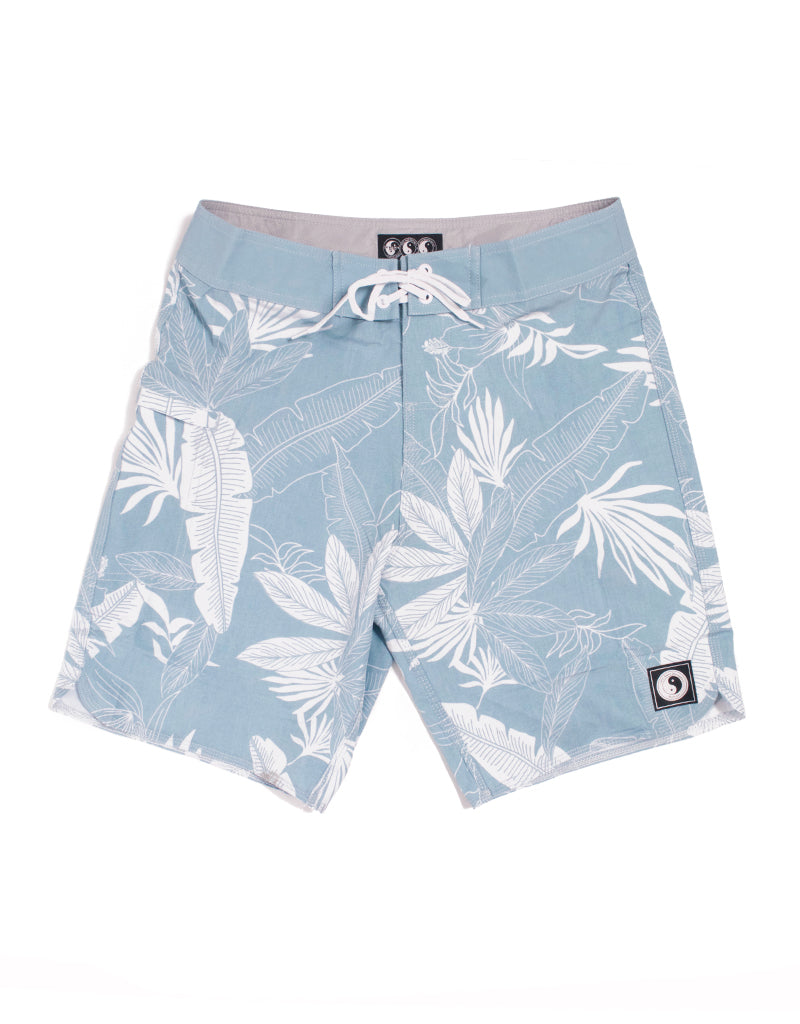 "T&C Surf Designs T&C Surf Laki 19"" Boardshort, 28 / Light Blue"
