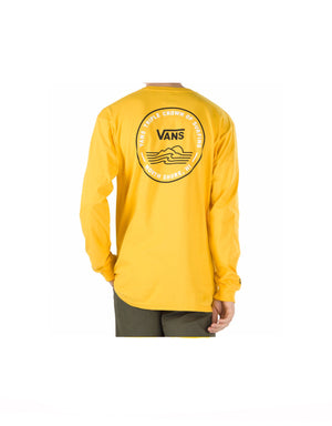 T&C Surf Designs Vans Triple Crown Of Surfing 2020 Lockup Long Sleeve, S / Lemon