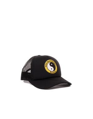 T&C Surf Designs T&C Surf Kids Standard Logo Trucker, OS / Black Yellow