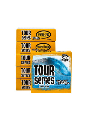 T&C Surf Designs Blocksurf Sticky Bumps Tour Series Surf Wax, One