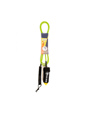T&C Surf Designs T&C 9' Calf Standard Leash, Lime Green