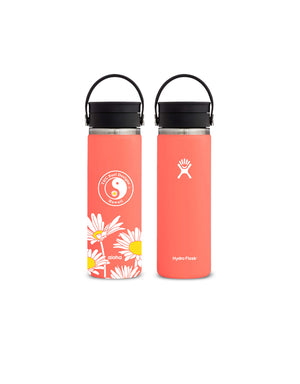 T&C Surf Designs T&C Surf 20 oz Daisy Hydro Flask, Hibiscus