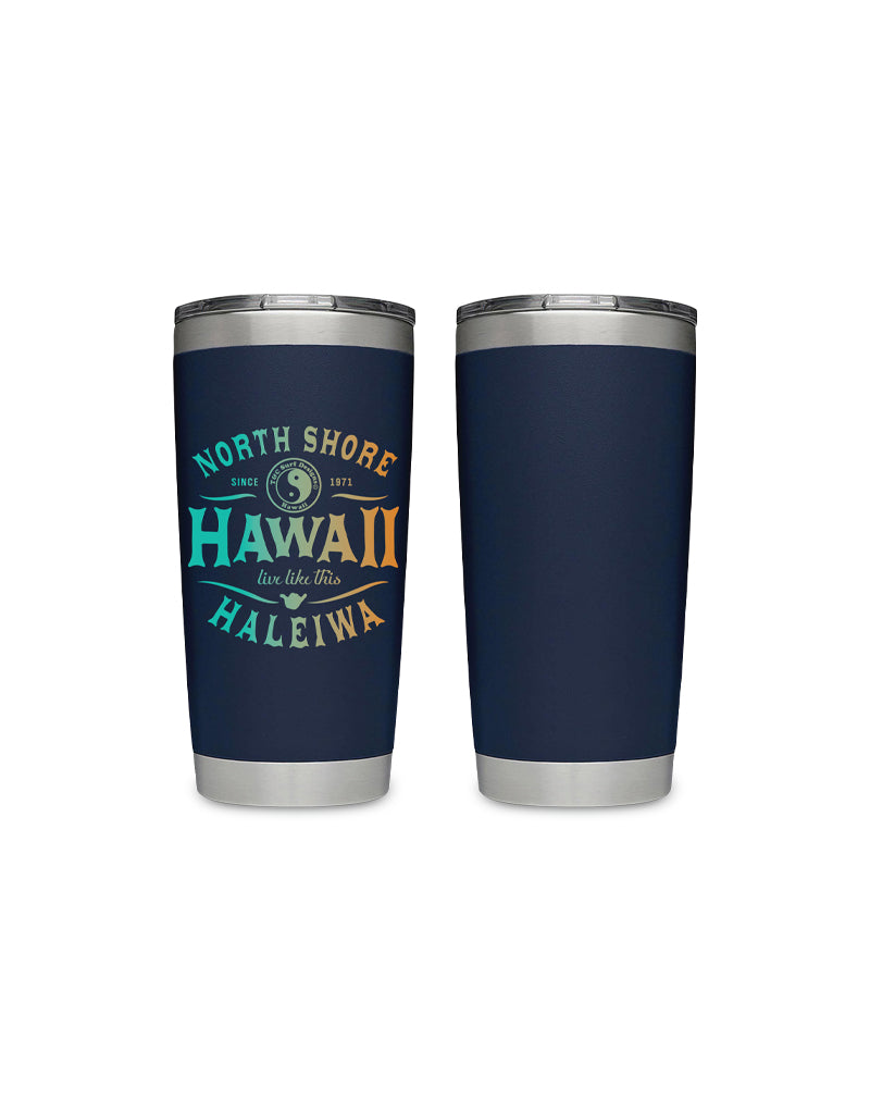 T&C Surf Designs T&C Surf 20 oz Koi Tumbler Yeti, Navy