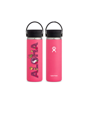 T&C Surf Designs T&C Surf 20 oz Aloha Wave Hydro Flask, Watermelon