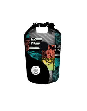 T&C Surf Designs T&C Surf Beach Bag 10L Dry Bag, Black