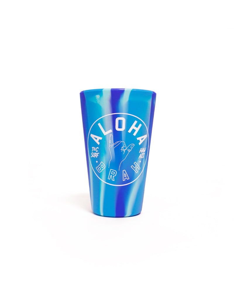 T&C Surf Designs T&C Surf Aloha Brah Silicone Cup, Blue
