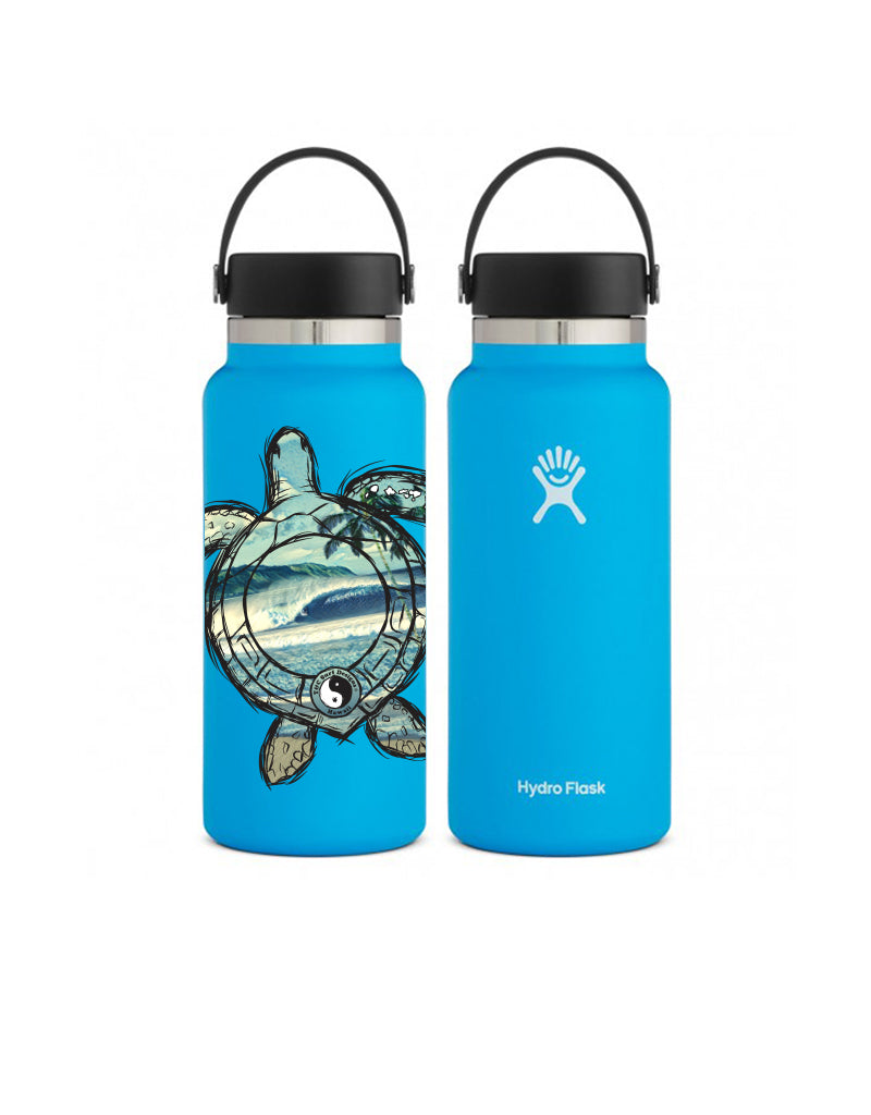 T&C Surf 32 oz Honu Wave Scenic Hydro Flask