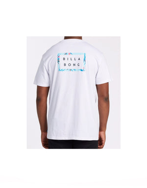 T&C Surf Designs Billabong Diecut Tee White,