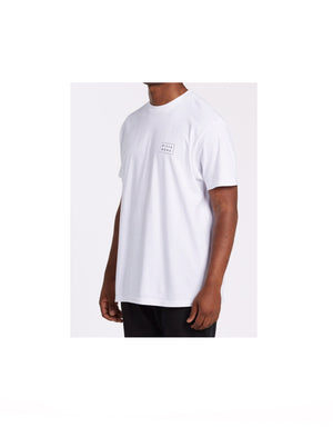 T&C Surf Designs Billabong Diecut Tee White, S / White