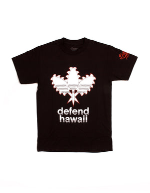 T&C Surf Designs Defend Team Defend Hawaii Tee, S / Black