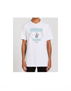 T&C Surf Designs Volcom Crest Tee, S / White