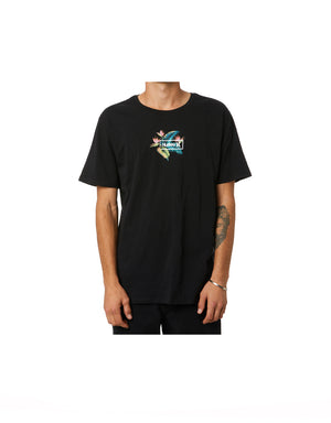 T&C Surf Designs Hurley Birds Nest Tee, S / h010