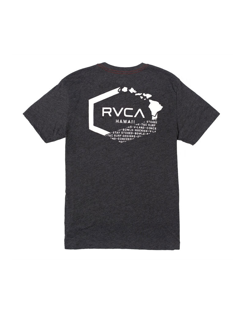 T&C Surf Designs RVCA Island Hex Tee,