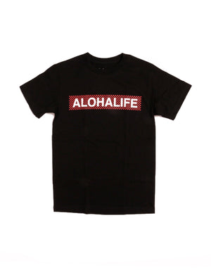 T&C Surf Designs Defend hawaii Alohalife Trilock Tee, S / Black Red